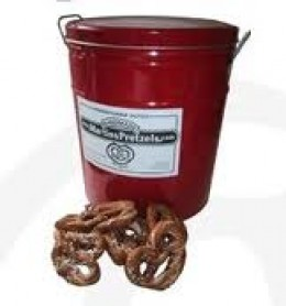 Famous red tin - Martin's Pretzels