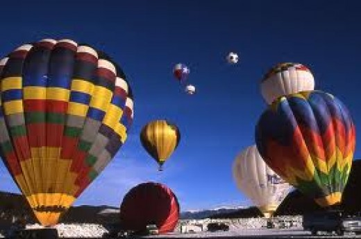 Ballooning is a very competitive air sport. It is watched my hundreds of thousands of fans worldwide.