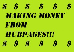 How to make money from hub pages : my one year experience