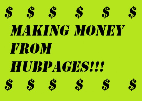 Making Money from Hubpages