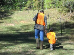 First deer hunting trip for my grandson.