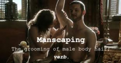 Manscaping.