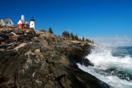 Pemaquid Point, Maine.
