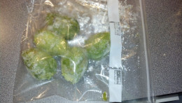 These are from my freezer. As you can see they're green as can be. I didn't use an acidic agent either.