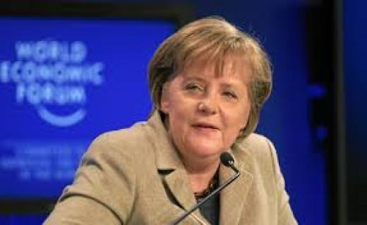 German President Merkel