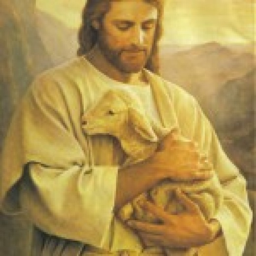 Jesus Christ is the Good Shepherd.