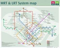 The latest MRT map