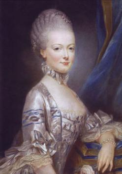 Grey Marie Antoinette.