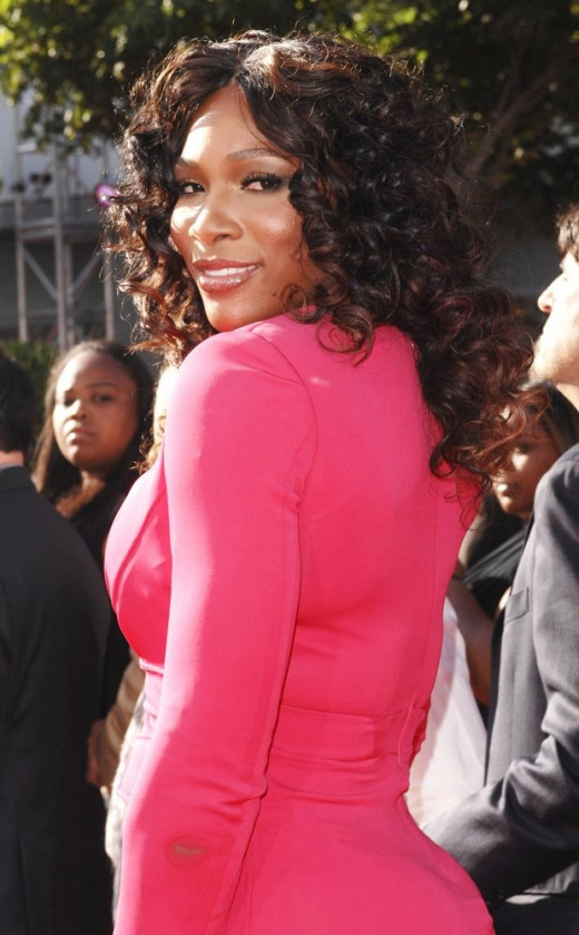 Serena Williams has a bottom that many heterosexual men find very attractive.