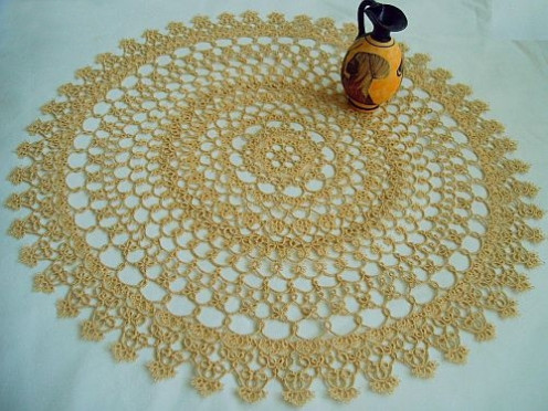 Photo: Tatted Doily