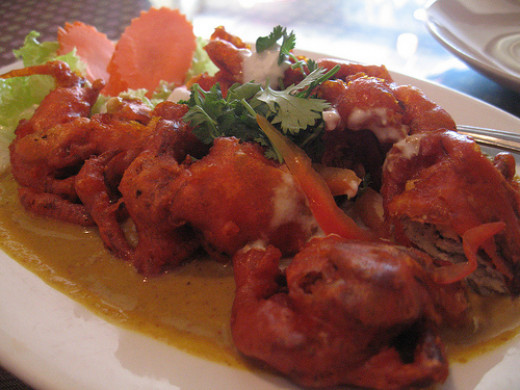 Soft Shelled Crab Curry