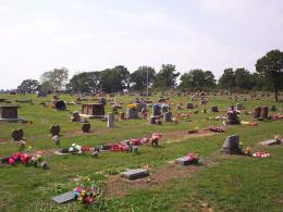 Holland cemetery Oklahoma