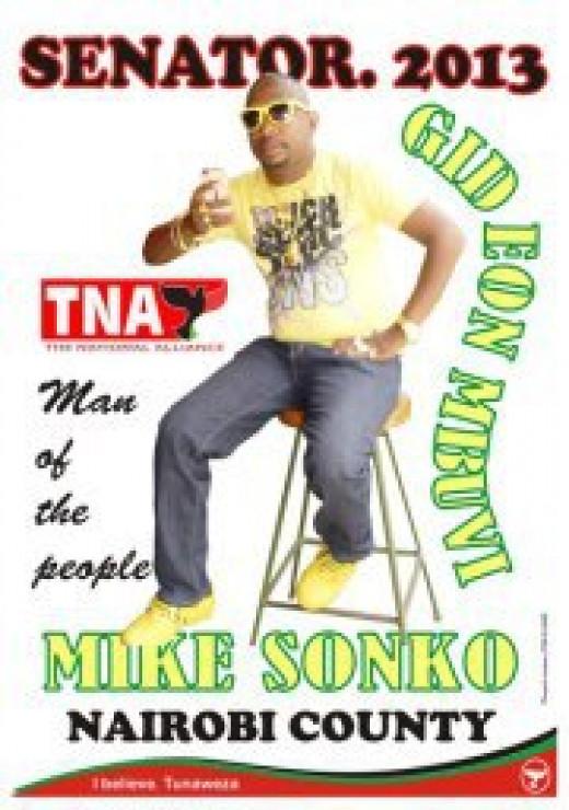 Senator Mike Sonko
