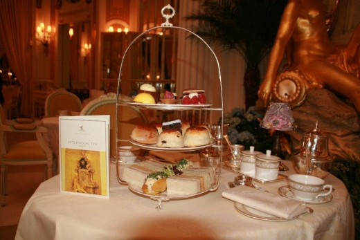 afternoon tea - palm court - ritz london