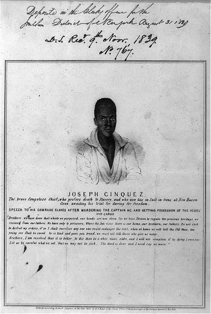 "Commissioned by the publisher of the New York ""Sun,"" the print was described and advertised for sale in the account of the capture of the ""Amistad,"" published in that newspaper's August 31, 1839 issue."