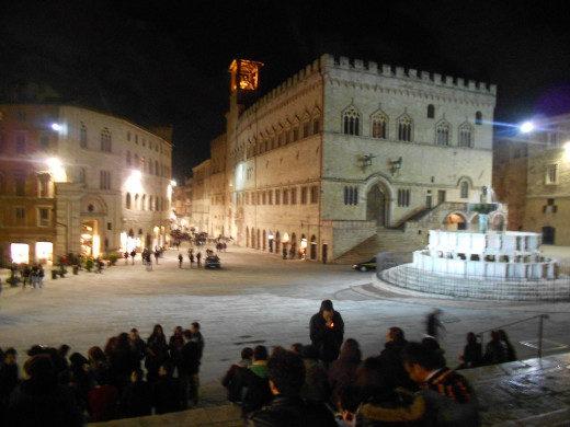 Piazza San Lorenzo, Perugia