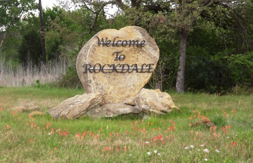 Welcome to Rockdale, Texas