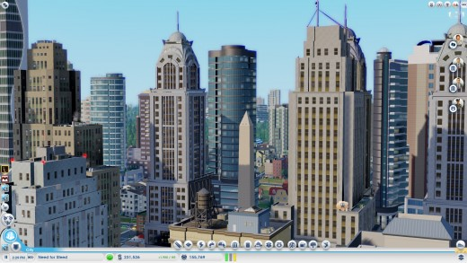 That's right! My buildings are taller than the Washington Monument, Ain't so big now huh Mr. First President