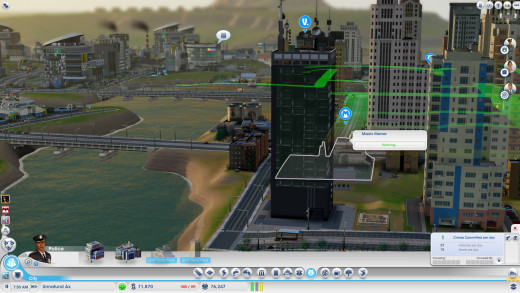 The tower of the evil Vu!!! Maxis Man's archenemy!!! (Limited edition and DD version) Hey, isn't it right next to Maxis Man? Well, that's going to be one busy mile of road.