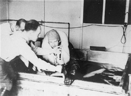 Nazi freezing experiments.