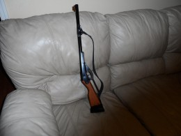I duct taped a strap to my grandsons bb gun so his gun could have a sling like the big boys.