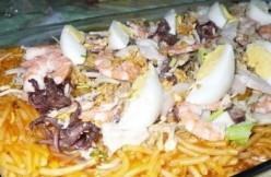 Cooking Recipe of Pansit Malabon Recipe (pancit palabok) Filipino Special