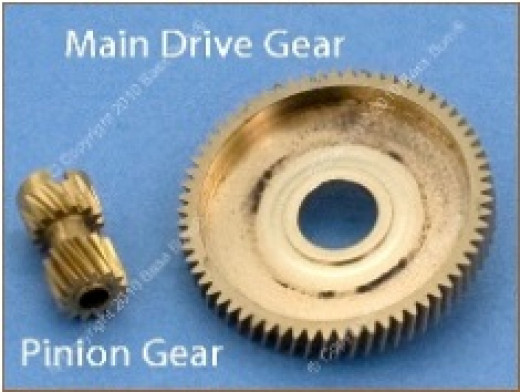 Large & Small Pinion Gears