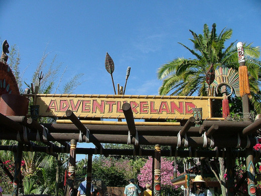 Magic Kingdom Adventureland,  home of Pirates of the Caribbean