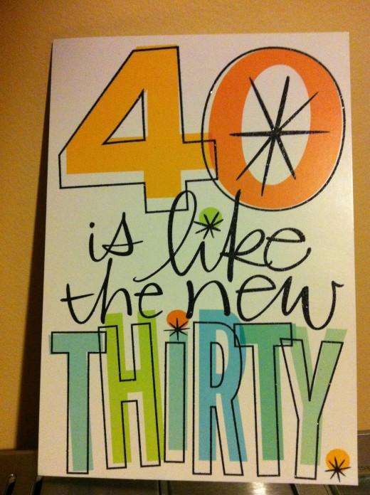 40 is awesome!