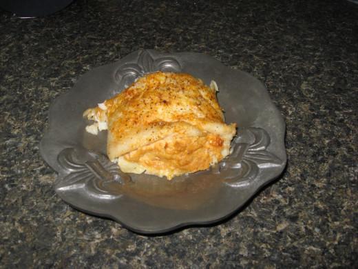 Crab-Stuffed Flounder