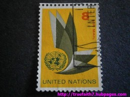 A UN airmail stamp from 1963.