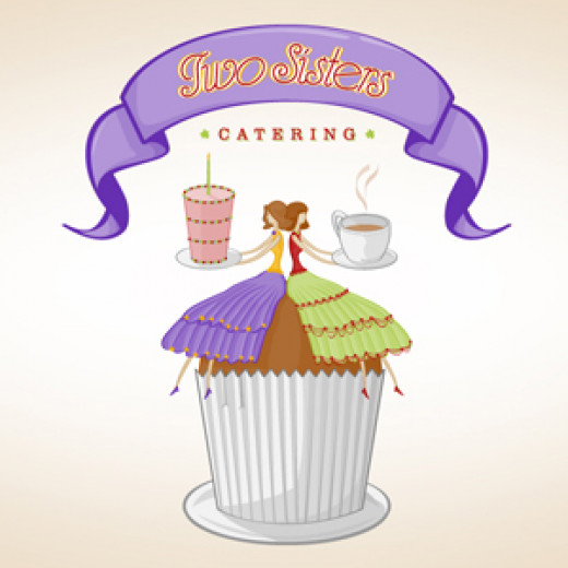 Two Sisters Catering Logo