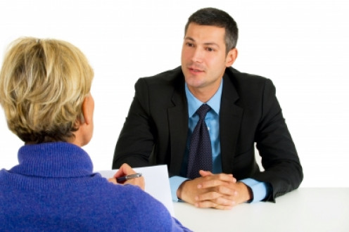 Finishing an interview by asking for the job is a good idea.