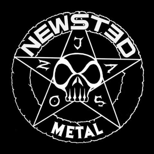 The cover to Newsted's new album, titled Metal