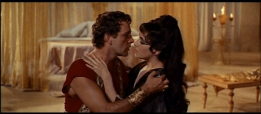 Taylor and Burton in Cleopatra
