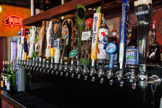 Craft Beers at Charlie Mac's 404