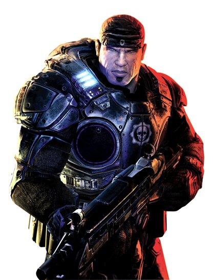 """Marcus Fenix (""""Gears of War"""")"""