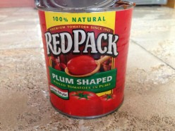 Red Pack Plum Shaped Peeled Tomatoes in Puree - Italian Style