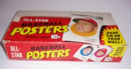 1970 BB Poster Wax Box
