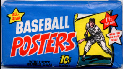 1970 BB Posters Wax Pack