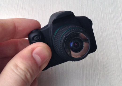 World's Smallest Fisheye Camera