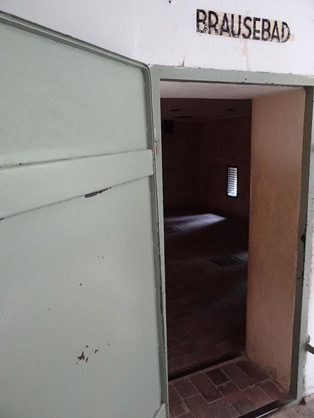 Walking through this door at Dachau brought certain death. Dachau was not designed as an extermination camp, but was used for this purpose in addition to forced labor.