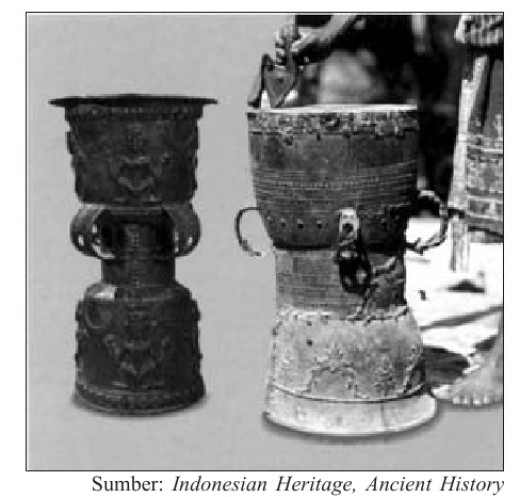 a small nekara ( Moko ) that found in Alor Island, Nusa Tenggara.