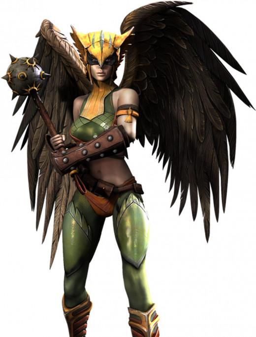Personally, I'm glad to see Hawkgirl again