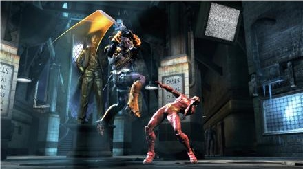 Deathstroke versus The Flash at Arkham Asylum