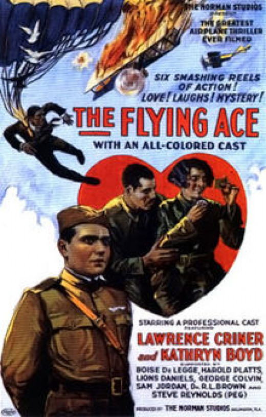 """Poster for the 1926 Silent Movie :""""The Flying Ace"""""""