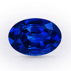 An example of a AAAA quality blue sapphire.