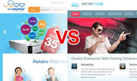 Exabytes vs ServerFreak