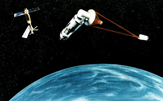 Space-Based Laser Missile Defense Concept