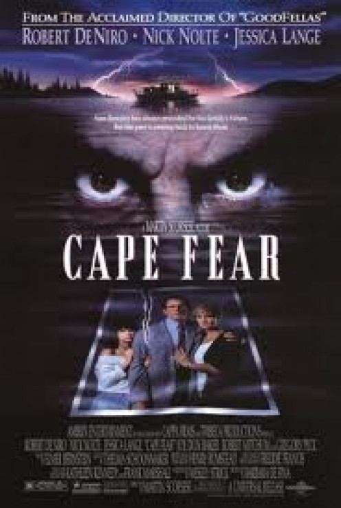 Cape Fear stars Robert De Niro and was a remake of a 1962 film of the same name. This is a great film by Robert De Niro.